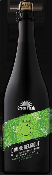 Divine Belgique beer bottle