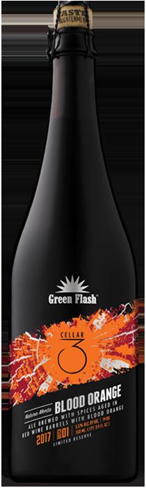 Natura Morta Blood Orange beer bottle
