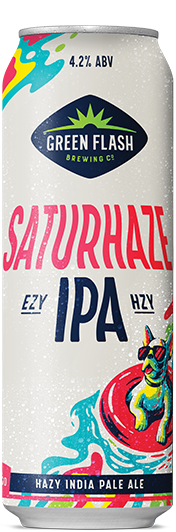Saturhaze 19.2 Can beer bottle