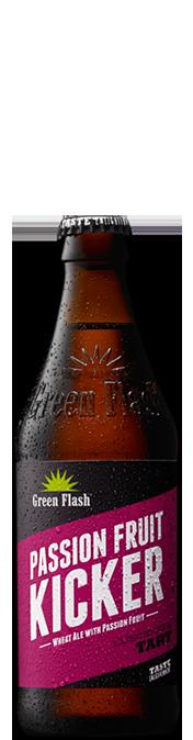 Passion Fruit Kicker beer bottle