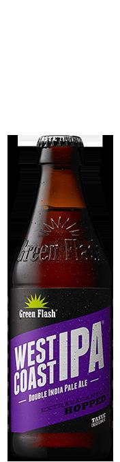 West Coast IPA beer bottle