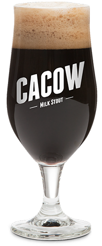 Cacow beer bottle