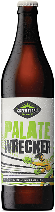 Palate Wrecker beer bottle