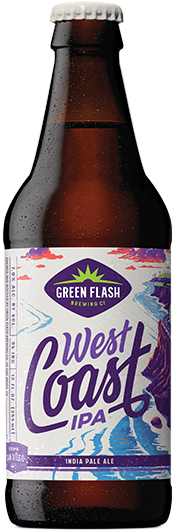 West Coast IPA beer bottle