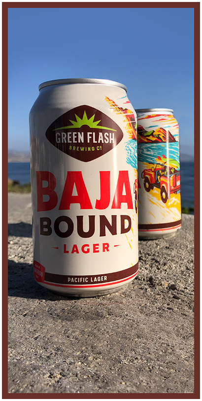 Top craft beer on draft from San Diego brewery, Green Flash