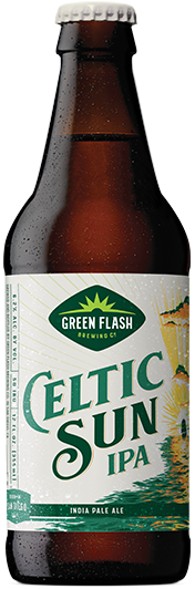 Celtic Sun IPA beer bottle